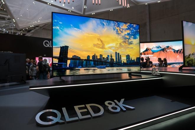 Chi tiet TV Samsung QLED 8K: Tang do net bang AI, cong nghe cao cap hinh anh