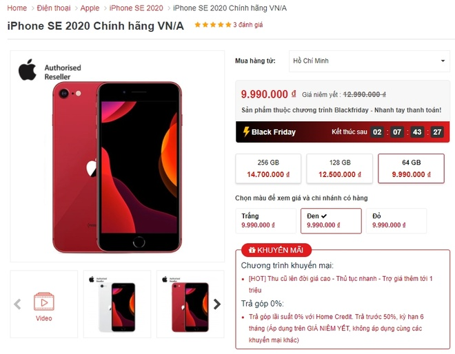Black Friday,  mua sam,  deal Black Friday Viet Nam 2020 anh 3