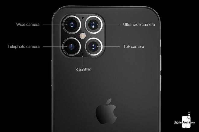 iPhone 12 Pro Max se trang bi cong nghe camera chua tung co? hinh anh 1 Z25423032020.jpg