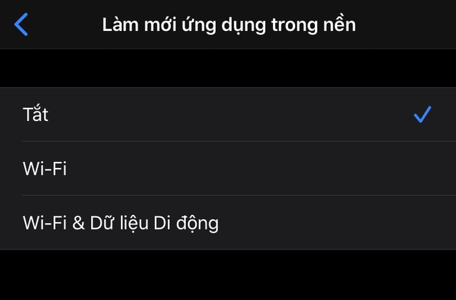 lam sao de tang toc iphone cu chay cham anh 20