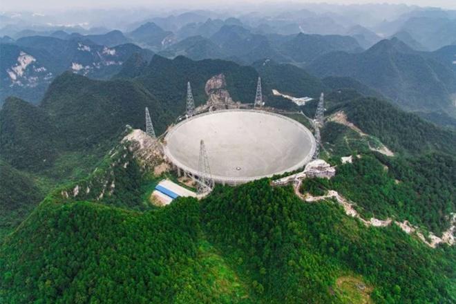 Trung Quốc dùng kính viễn vọng khổng lồ để tìm người ngoài hành tinh