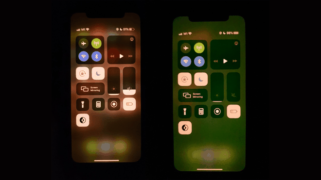 iPhone 11 Pro Max loi man hinh sau khi cap nhat iOS anh 1