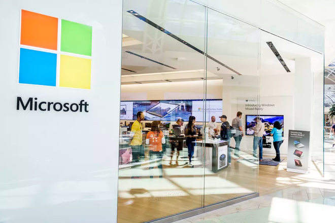 Microsoft Store dong cua vinh vien tren toan the gioi anh 1