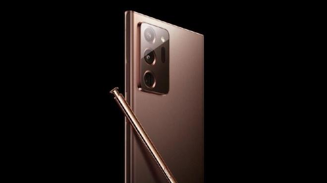Samsung Galaxy Note20 Ultra su dung cong nghe man hinh moi anh 1