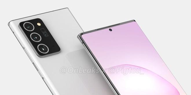 Samsung Galaxy Note20 Ultra su dung cong nghe man hinh moi anh 2