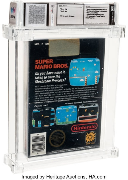 Bang game Mario cho may NES duoc ban dau gia cao ky luc anh 2