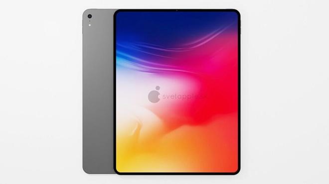 Bản dựng iPad Air 10,8 inch dựa trên tin rò rỉ với thiết kế giống iPad Pro, có thể ra mắt cùng với dòng iPhone 12. Ảnh: svetapple.sk.