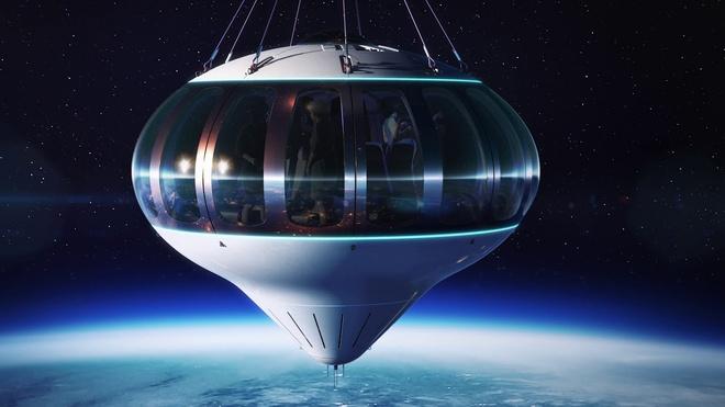 Ve du lich vu tru bang khinh khi cau Spaceship Neptune gia 125.000 USD anh 2