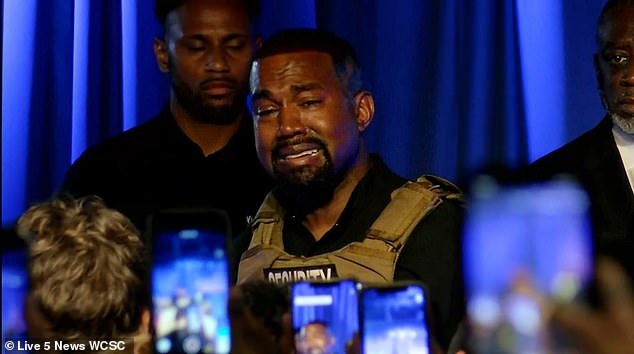 Kanye West do loi cho iPhone khi nop ho so tranh cu tre anh 1
