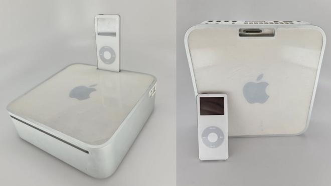 Nguyen mau Mac mini voi cong cam iPod cua Apple anh 1