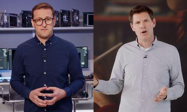Apple có thể thay thế Craig Federighi bằng Jon Andrews (trái) và Sebastien Marineau-Mes trong trường hợp cần thiết. Ảnh: Apple.