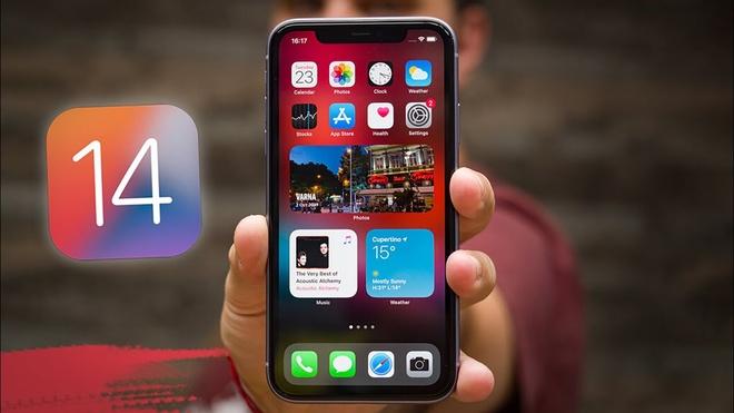 iOS 14 bi loi hao pin,  nong may anh 1