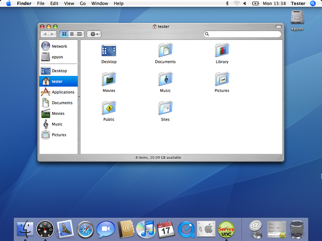Windows XP tung co giao dien giong macOS anh 2