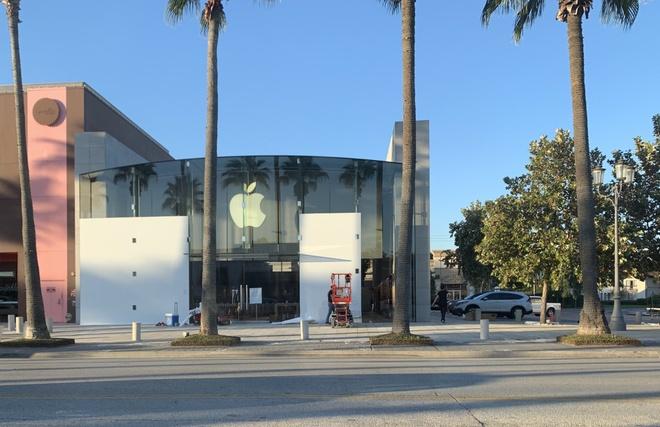 Apple Store tai My lap van go phong bao loan sau bau cu tong thong anh 3