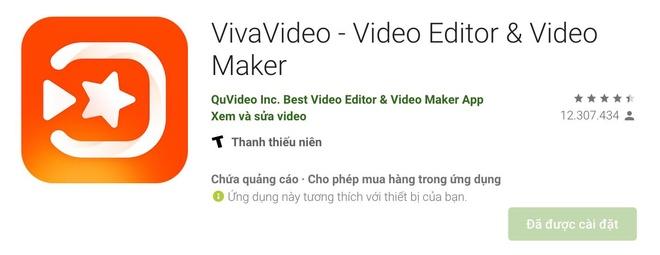 Ung dung VivaVideo tren Play Store tru tien nguoi dung anh 2