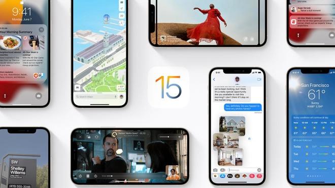 Apple phat hanh iOS 15 thu nghiem anh 1