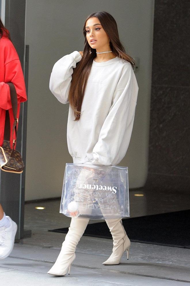 Truoc khi lo anh toc that, Ariana Grande tung de nhung kieu dau gi? hinh anh 14