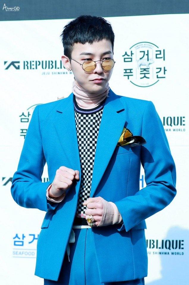 G-Dragon va nhung lan chung minh dang cap thoi trang khi dien suit hinh anh 3