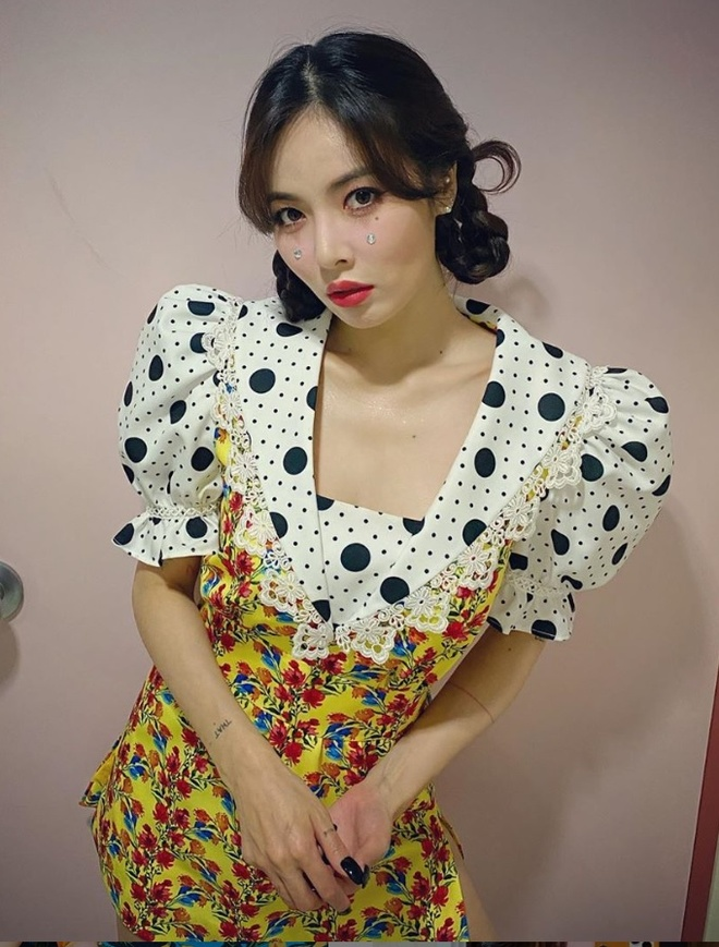 Khong phai do ho hang, HyunA ngoai doi thich mac vay ao hoa nu tinh hinh anh 4