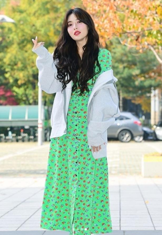 Khong phai do ho hang, HyunA ngoai doi thich mac vay ao hoa nu tinh hinh anh 5
