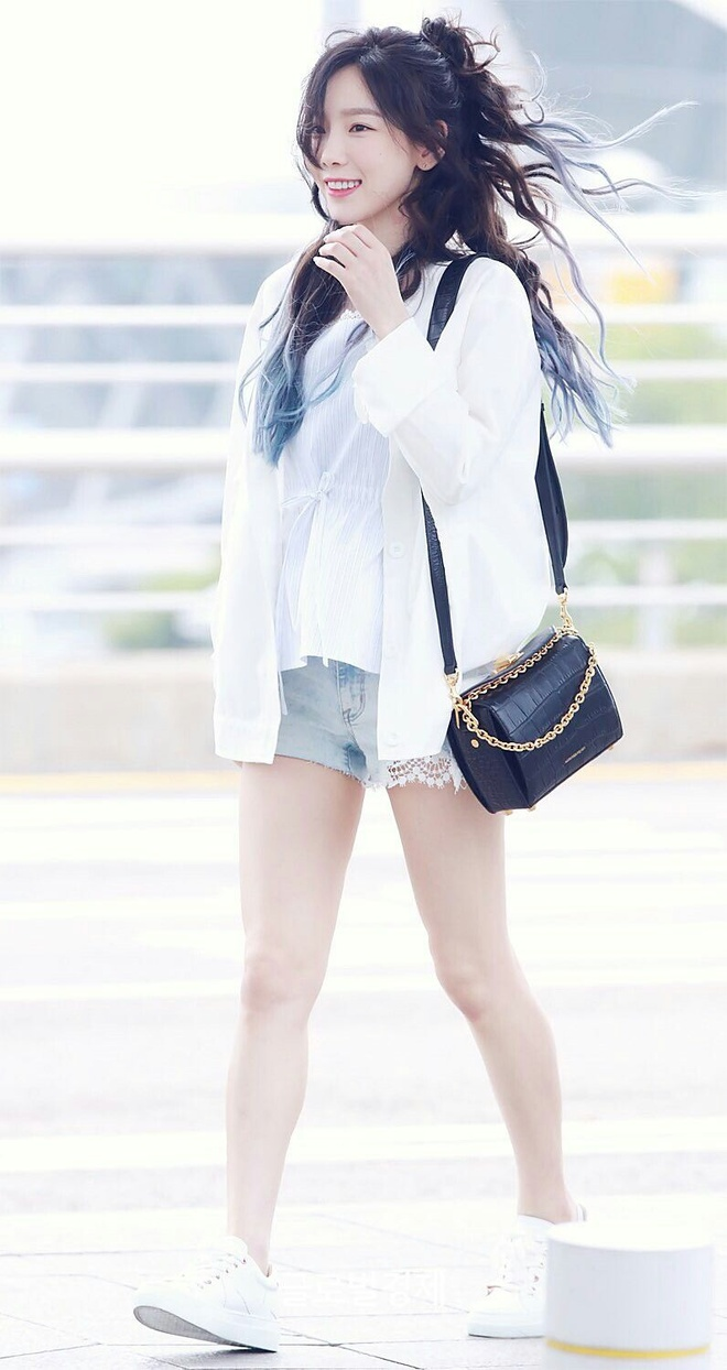 Taeyeon khoe eo thon anh 9
