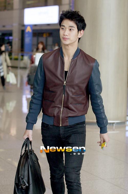 thoi trang san bay cua Kim Soo Hyun anh 6