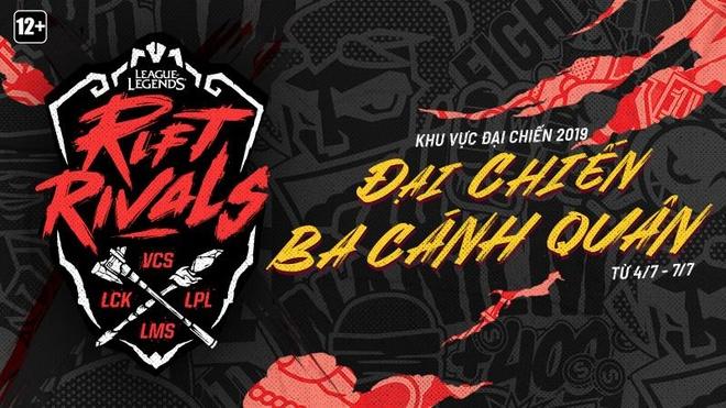 LMHT Viet Nam cung Dai Loan dai chien Trung Quoc, Han Quoc hinh anh 1