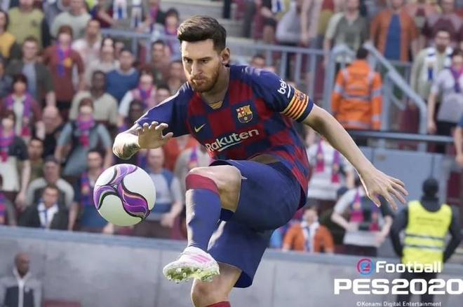 PES 2020 phat hanh thang 9, doi dau voi FIFA 20 hinh anh 2