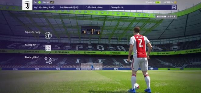 De Ligt la su lua chon tuyet voi trong FIFA Online 4 hinh anh