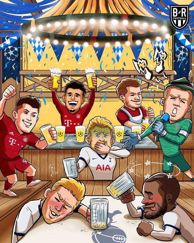 Biem hoa HLV Wenger cuoi tuoi khi Bayern vui dap Tottenham hinh anh 4