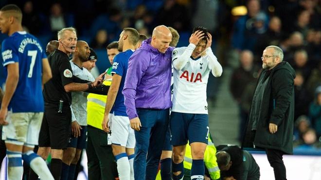 HLV Tottenham noi trong tai sai khi phat Son the do hinh anh 1