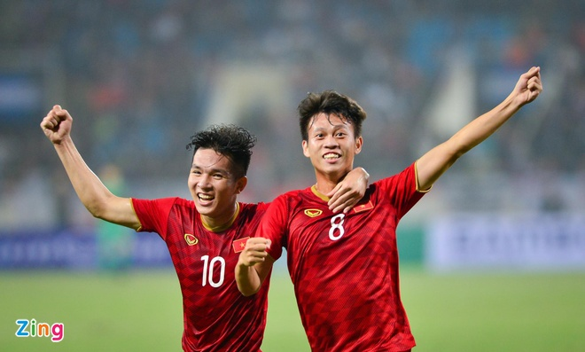 U22 Viet Nam chot so ao tai SEA Games, khong co so 10 hinh anh 1