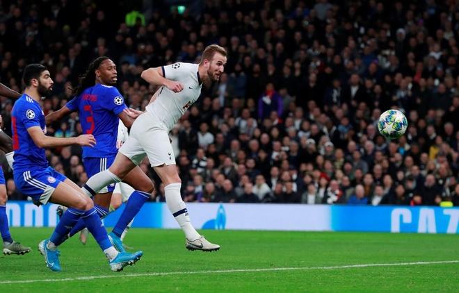 Kane lap ky luc trong tran loi nguoc dong cua Tottenham hinh anh 1