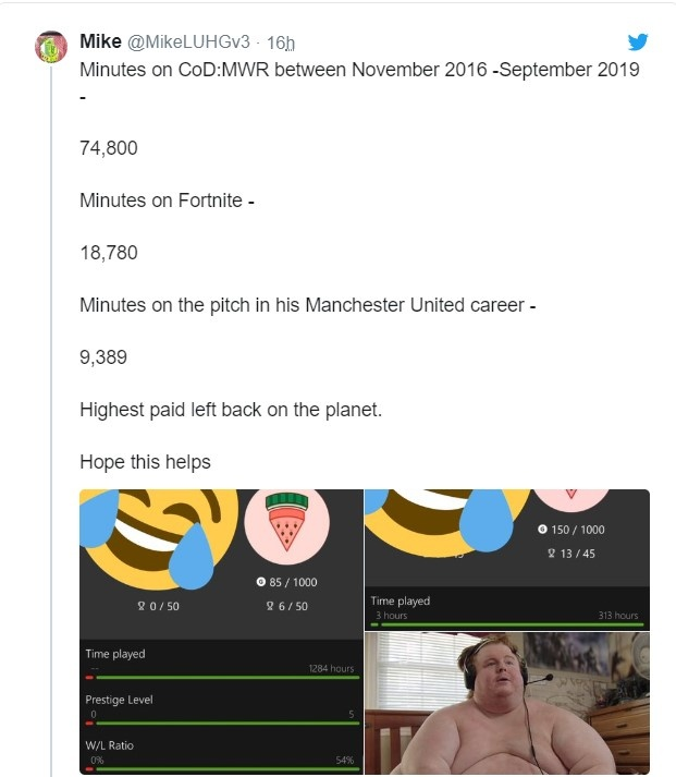 Sao Man United bi chi trich vi choi game nhieu hon thi dau hinh anh 1 Screenshot_105.jpg