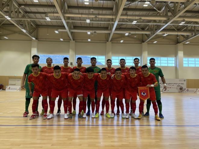 Futsal Viet Nam vs Lebanon anh 9