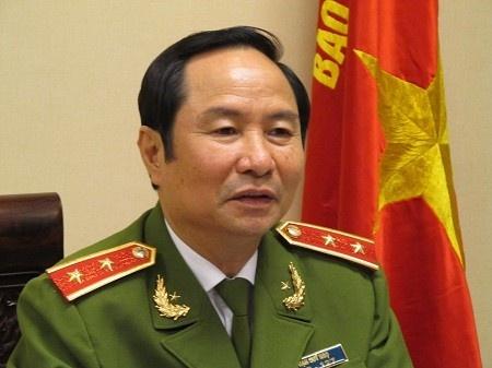 Bo Cong An chu tri tang le Thuong tuong Pham Quy Ngo hinh anh