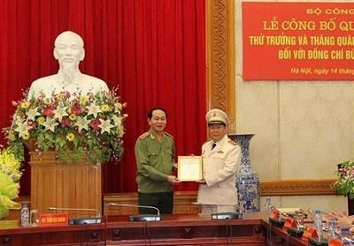 Bo Cong an co Thu truong moi hinh anh