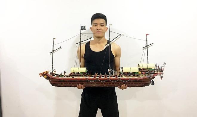 9X Ha Noi so huu bo suu tap Lego do so, gia tri hang chuc trieu dong hinh anh 5
