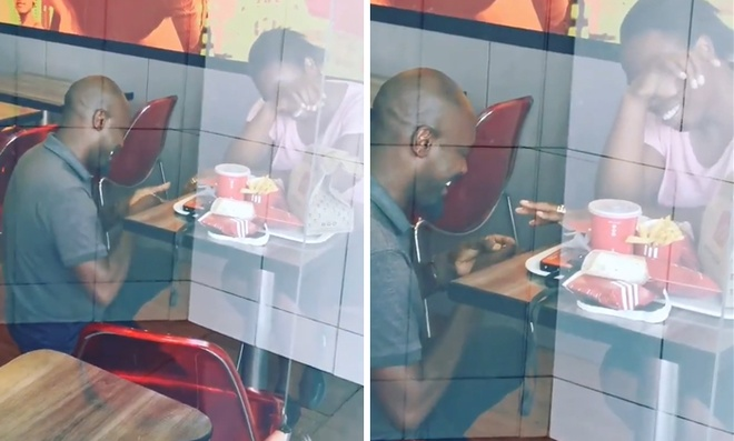 Doi vo chong cau hon o KFC, duoc tai tro luon tien to chuc dam cuoi hinh anh 1 kfc_proposal_south_africa_1_5dce65fb95b68_700.jpg