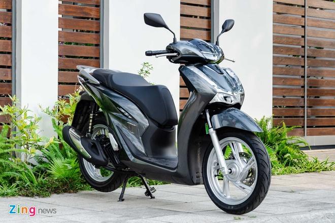 Honda SH gia thap ky luc, van cao hon gia de xuat cua Honda VN hinh anh 1 Honda_SH_2020_Zing_13_.jpg