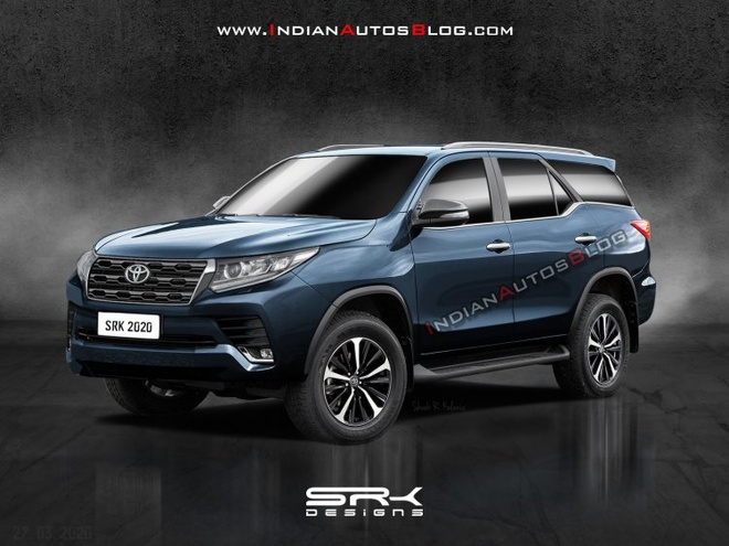 Toyota Fortuner 2021 lo dien anh 1