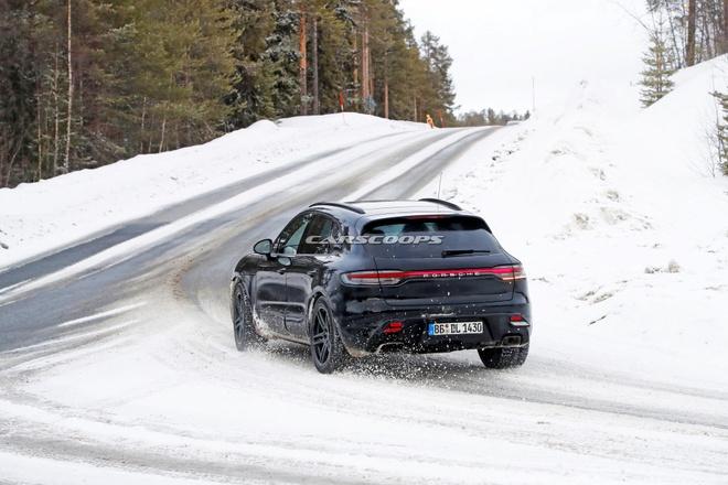 Porsche Macan 2022 lo dien anh 2
