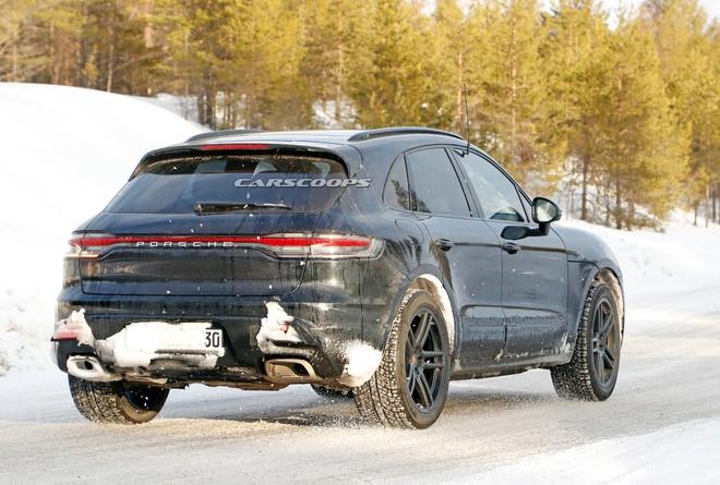 Porsche Macan 2022 lo dien anh 4