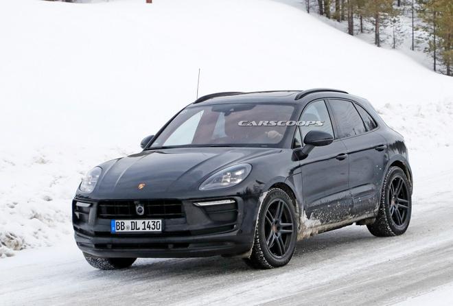 Porsche Macan 2022 lo dien anh 1