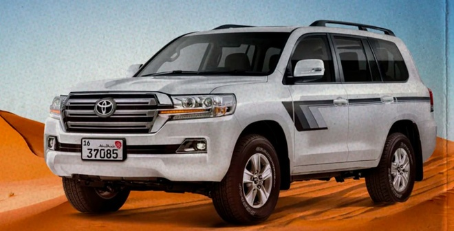 Toyota Land Cruiser Heritage Edition day hoai co anh 3
