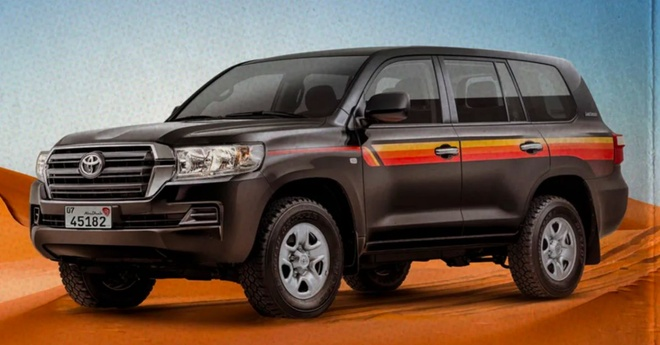 Toyota Land Cruiser Heritage Edition day hoai co anh 2