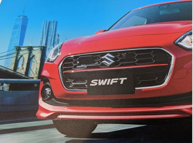 Suzuki Swift 2020 lo dien anh 2