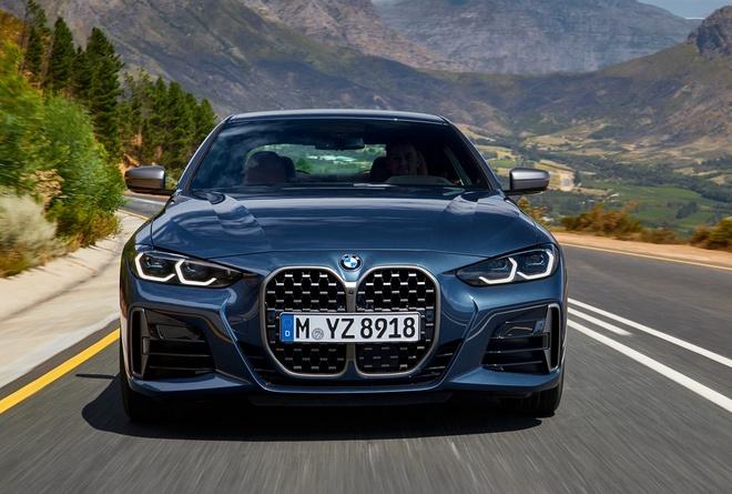 BMW M4 2021 lo dien voi luoi tan nhiet khong lo anh 2