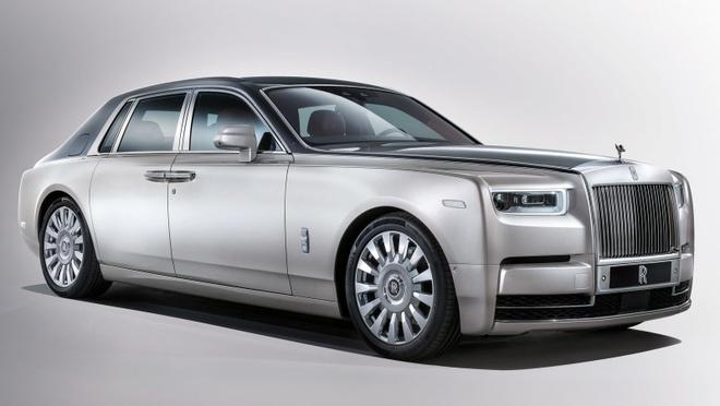 Rolls-Royce Phantom se co phien ban xe dien anh 2