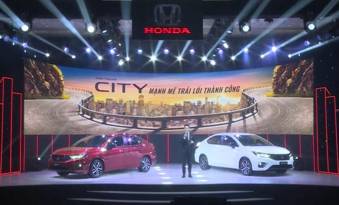 Honda City 2021 duoc ra mat tai Viet Nam anh 1